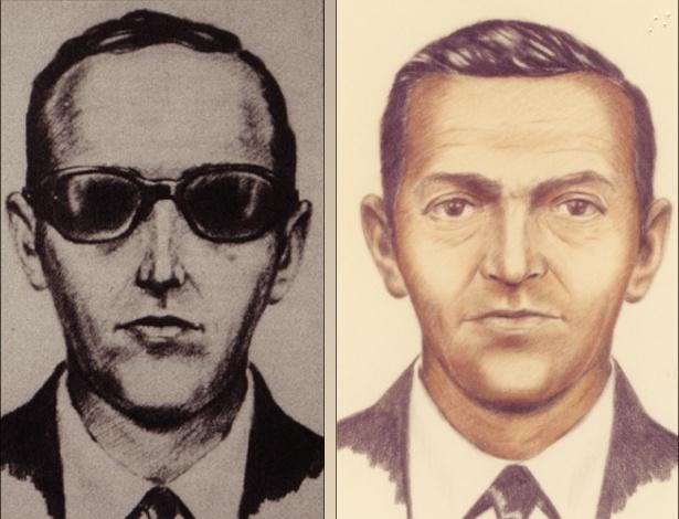 Retrato falado do sequestrador do voo 305 da Northwest Orient Airlines em 1971