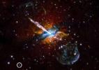 Redondezas da Via Láctea tem explosões misteriosas de raio X (Foto: Nasa/U.Birmingham/M.Burke )