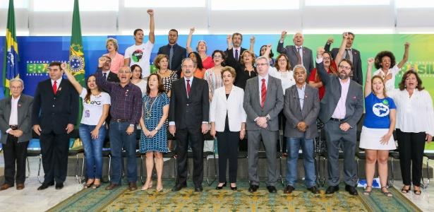 """Dilma: """"Existem dois chefes do golpe que agem em conjunto"""" - Roberto Stuckert Filho/PR"""