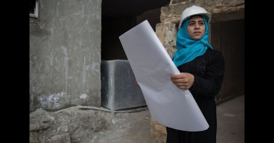 9.fev.2016 - Fatima, 16, sempre quis ser arquiteta.