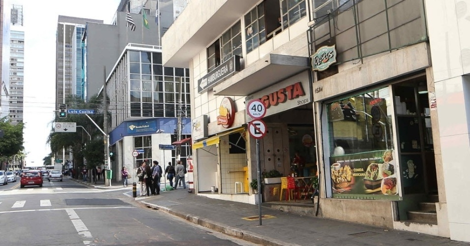 RUA AUGUSTA - Desde 1º de julho a velocidade máxima de circulação na rua Augusta, no centro da capital paulista e uma das regiões mais frequentadas durante à noite, passou a ter velocidade máxima de 40 km/h