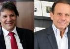 Doria e Haddad não lideram nem entre tucanos e petistas, diz Datafolha (Foto: Arte/UOL)