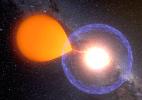 Astrônomos captam imagem rara de antes e depois de explosão de estrela - K Ulaczyk - Warsaw University Observatory