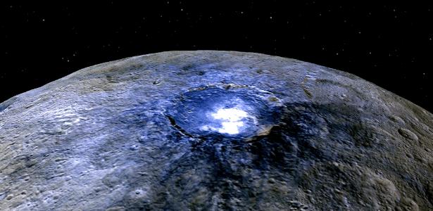 Astrônomos começaram a solucionar os misteriosos pontos brilhantes do planeta Ceres