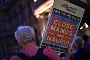 Opinião: Crueldade em alto-mar na Austrália (Foto: Saeed Khan/AFP)