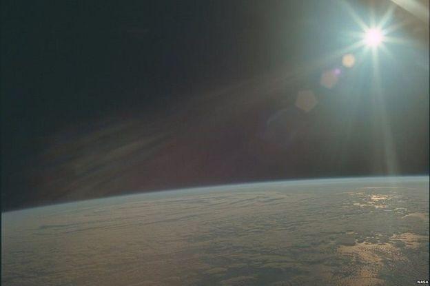A tripulação da Apollo 11 ainda capturou o clima na Terra