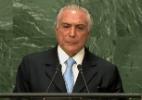 Chanceler da Costa Rica explica gesto durante discurso de Temer na ONU