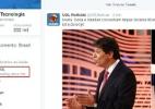 #DebateSBTFolhaUOL é assunto mais comentado pelos brasileiros no Twitter (Foto: Reprodução)