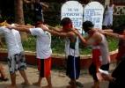 Como usuários tentam se livrar das drogas nas Filipinas - Erik De Castro/ Reuters