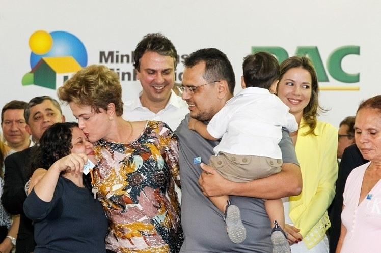 28.ago.2015 - Pressionada pela baixa popularidade e pela ameaça de um processo de impeachment, a presidente Dilma Rousseff (PT) disse nesta sexta-feira (28) que não vai permitir