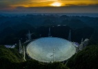 China finaliza o maior radiotelescópio do mundo - Xinhua/ National Astronomical Observatories of Chinese Academy of Sciences/ Ou Dongqu