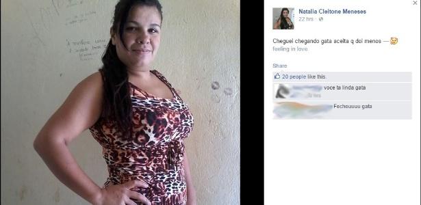 29.jun.2015 - Detenta Natália Ferreira de Souza publica em rede social fotos de dentro do presídio Agrícola Doutor Mário Negócio, em Mossoró (RN)