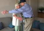 Namorados separados no pós-guerra têm reencontro emocionante após 70 anos (Foto: Reprodução)