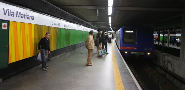 Estação Vila Mariana do Metrô, na zona sul de São Paulo