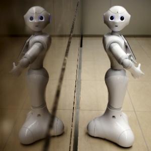 """Robô androide apelidado de """"Pepper"""""""