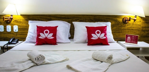 O ZEN Rooms Real Grandeza, em Botafogo, no Rio de Janeiro, tem diária de R$ 292