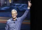 Em reunião com CEO da Apple, autoridade chinesa fala sobre segurança (Foto: Stephen Lam/ Getty Images/AFP)
