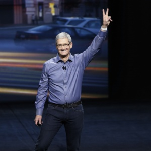 Tim Cook, diretor-executivo da Apple