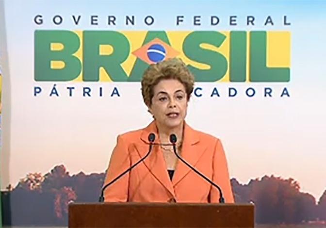 4.mai.2016 - A presidente Dilma Rousseff participa da Cerimônia de Lançamento do Plano Agrícola e Pecuário