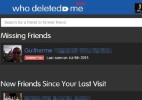 Aplicativo dedura quem excluiu e bloqueou você no Facebook (Foto: Reprodução)