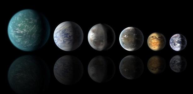 Embora seja comum dizer que os planetas são redondos, isso não é exatamente verdade