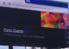 Cuidado ao ver pornografia no trabalho, o PC pode estar ligado a um outdoor (Foto: Reprodução)