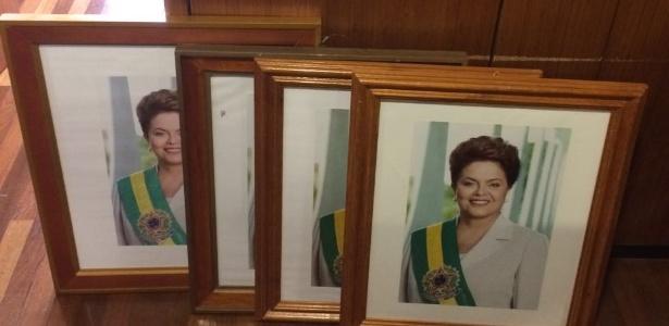 Retratos da presidente afastada foram retirados dos gabinetes e salas do Palácio do Planalto