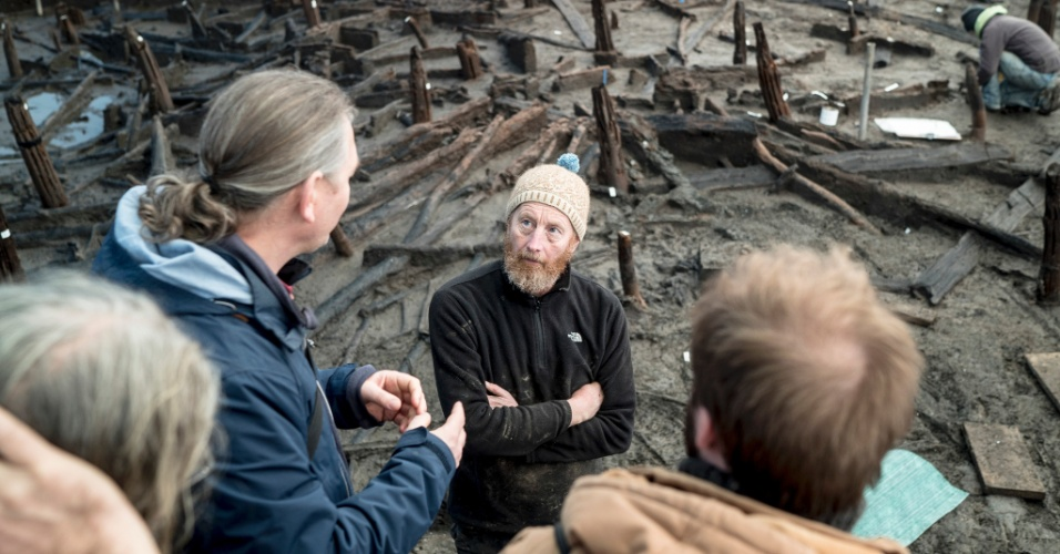 Escavações na Inglaterra
