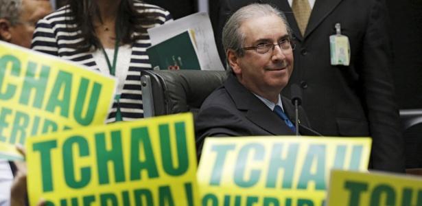 O presidente da Câmara dos Deputados, Eduardo Cunha (PMDB-RJ), é um dos investigados que votou pelo impeachment de Dilma Rousseff (PT)