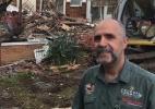 Australiano tem casa demolida por engano; a certa era a do vizinho (Foto: Reprodução)