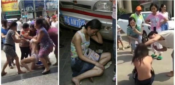Meio estranha essa moda chinesa de lavar a roupa suja em plena rua, não?
