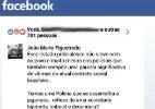PM tem prisão decretada após criticar corporação em comentário no Facebook (Foto: Reprodução/Facebook)