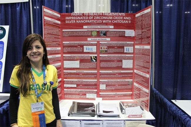 Kawoana Vianna, Intel ISEF 2011 (Feira Internacional de Ciência e Engenharia)