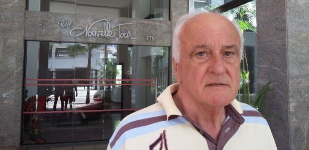 João Carlos Goulart de Moraes, 74, tem um processo tramitando há 12 anos contra o ministro Eliseu Padilha