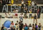 Estudantes protestam por merenda em SP - Marlene Bergamo/Folhapress