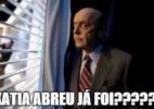 Kátia Abreu joga vinho na cara de Serra e vira meme (Foto: Reprodução)