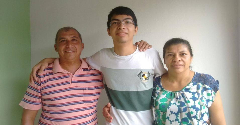Sérgio Santana, 18, passou em medicina na UFPI pelo Sisu