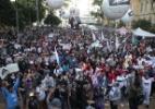 Professores da rede estadual fazem protesto em São Paulo - Danilo Verpa/Folhapress