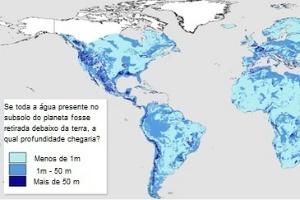 Mapa quantifica pela primeira vez água escondida debaixo da terra no mundo
