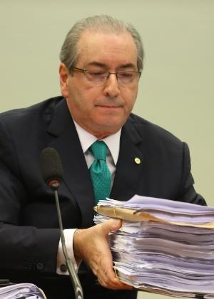 O deputado e presidente afastado da Câmara, Eduardo Cunha (PMDB-RJ)