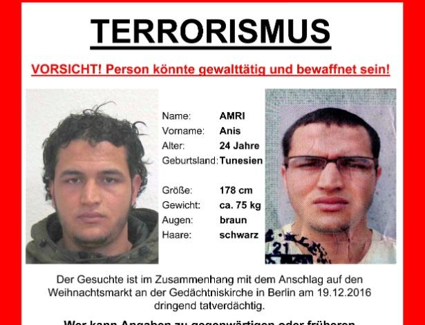 Na quinta, a Alemanha informou que documentos de Amri foram achados no caminhão