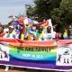 Uganda tem parada um ano após queda de lei que previa prisão perpétua de gays - Edward Echwalu/Reuters