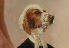 Leilão nos EUA terá só obras retratando cães; quadro pode valer US$ 30 mil (Foto: Reprodução/Doyle New York)