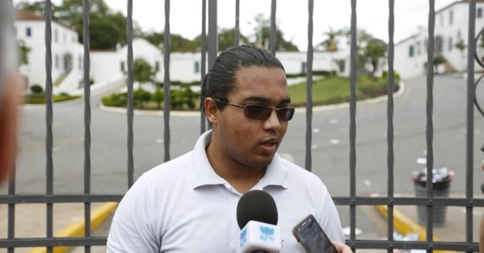 5.nov.2016 - O candidato Gustavo Kosiniuk, 21, disse que não conseguiu acessar o local de prova do Enem, na PUC-MG, por ter achado