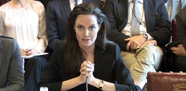 Em Londres, Jolie faz alerta sobre violência sexual nos países em guerra