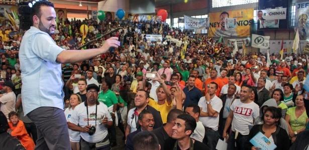 Ney Santos foi eleito prefeito de Embu das Artes com quase 80% dos votos válidos