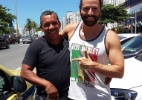 Taxista carioca devolve equipamentos de cinema caros esquecidos em veículo (Foto: Reprodução/Facebook/Laércio Aquino Fonseca)