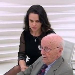 A advogada Janaína Paschoal e o jurista Hélio Bicudos, dois dos autores do pedido de impeachment