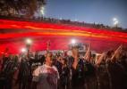 Quatro maiores organizadas de SP se unem por homenagem à Chapecoense - Cris Fraga/Fox Press/Estadão Conteúdo