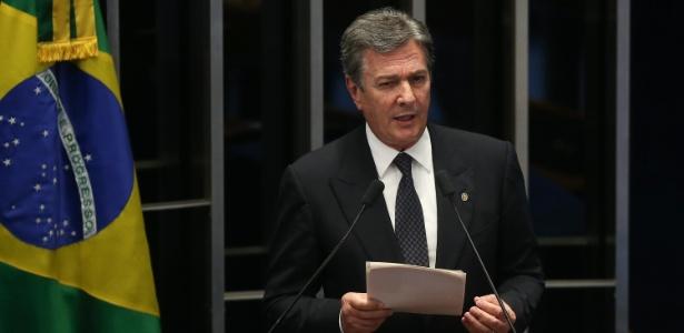 Fernando Collor de Mello (PTC-AL) é um dos sete senadores investigados pela Lava Jato que pediram urgência na votação do pacote anticorrupção